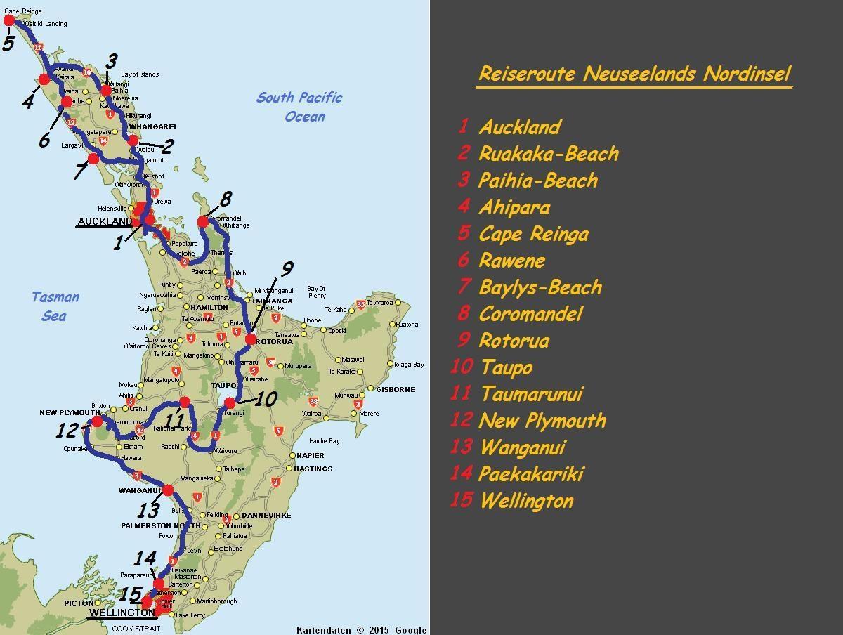 Neuseland Rundreise Reisebericht Informationen